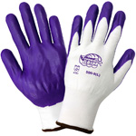 Tsunami Grip® Gloves 500P Purple Nylon Glove, XS, 12 Pair/Pkg