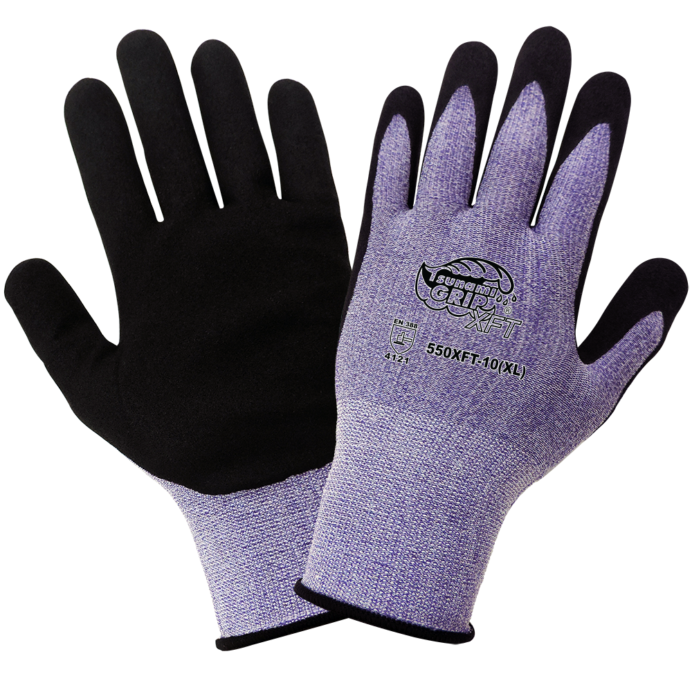 Tsunami Grip XFT - Xtreme Foam Technology Coated Gloves, XXS, 12 Pair/Pkg