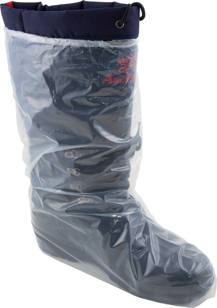 5 mil Clear Poly Boot Cover w/ Elastic Opening. XL. 500/case.