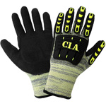 Vise Gripster C.I.A. Gloves, Cut and Puncture Resistant Gloves, ANSI Cut Level A5,.Medium, 12 Pair/Pkg