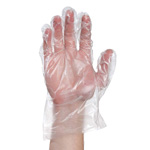 Poly Foodservice Gloves, Small  1000/Cs