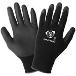 PUP27-9 Polyurethane Dip 15 gauge nylon/spandex Gloves, Small. 12/Pair/Pkg