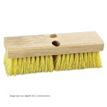 "10"" Deck Brush. Cream Colored Polypropylene. 1/Ea"