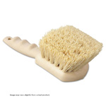 "Plastic Block Brush. White Tampico. 8-1/2"" L. 1/Ea"