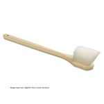 "Utility Brush. Long Handle 20"" Handle. 1/Ea"