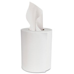 "Boardwalk® Center-Pull Hand Towels, 2-Ply, Perforated, 7 7/8"" x 10"", 600 Wipes/Roll, 6 Rolls/Case"