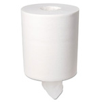 Boardwalk® 2-Ply Center Pull Roll Towel. White. 660 Sheet per Roll. 6/Cs
