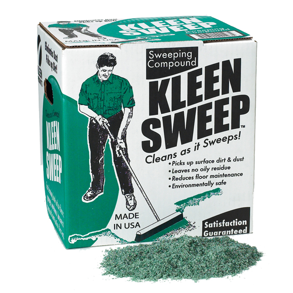Clean Sweep Sweeping Compound, 100 Lb. Box. 1/Ea
