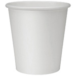 12 oz. White Hot Cups, 1000/Cs