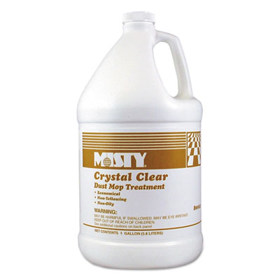 Crystal Clear Dust Mop Treatment, Slightly Fruity Scent, 1 Gallon Bottle