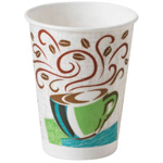 Dixie® PerfecTouch® Paper Hot Cups. 8oz.  500/Cs