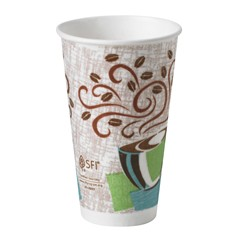 Dixie® PerfecTouch® Paper Hot Cups. 16oz. 1000/Cs