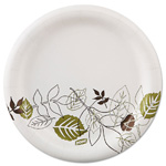 "Dixie Pathways Soak-Proof Shield Medium weight Paper Plates, 8 1//2""  600/Cs"