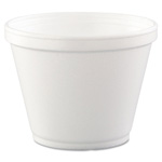 12 oz. Disposable Food Container Foam. 500/Cs