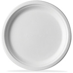 "9"" Eco-Products® Compostable Sugercane Plate 500/Cs"