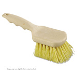 "Utility Brush. Cream Colored Polypropylene. 8-1/2"" L. 1/Ea"