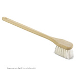 "Utility Brush, Polypropylene Fill, 20"" Long, Tan Handle 1/Ea"