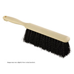 Counter Brush. Black Polypropylene. 1/Ea