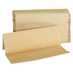 General Multifold Natural Paper Towels 1 Ply, 4000/Cs