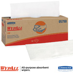 "Wypall L40 Wipers, 16 2/5"" x 9 4/5"" White. 100/Bx, 9 Bx/Cs"