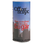 Office Snax® Sugar Canister. 20oz. 24/Cs