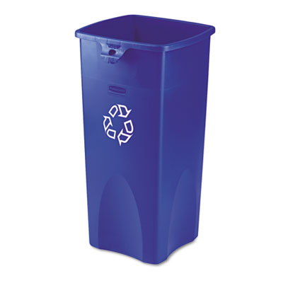 Untouchable® Square Recycle Container. 1/Ea