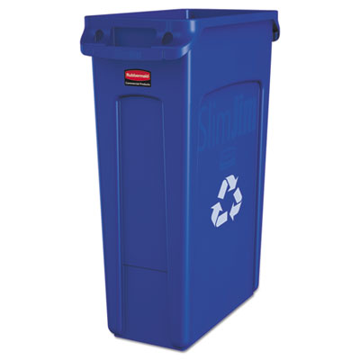 Slim Jim® Recycle Container 23Gal. with Venting Channels. 1/Ea