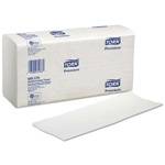 Tork Premium Multifold Hand Towels, White. 3000/Cs
