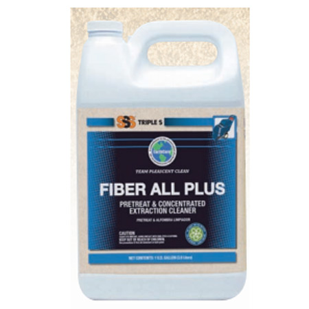 Fiber All Plus Concentrated Extraction Cleaner. 1 Gallon. 4/cs