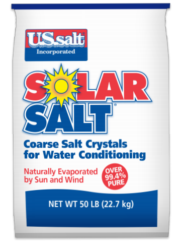Solar Salt Water Softner Salt 40lb. Bags 63/Pallet