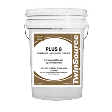 Plus 8 Heavy Duty Degreaser. 5 Gallon Pail. 1/Ea