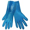 Frogwear® Premium Super Flexible Blue Nitrile/PVC. Medium. 12/Pairs/Pack
