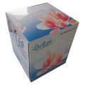 Facial Tissue Cube Box, 2-Ply, White, 85 Sheets Per Box, 36 Boxes per Case