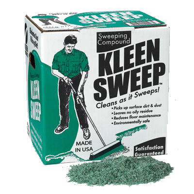 Kleen Sweep™ Sweeping Compound, 50 Lb. Box. 1/Ea