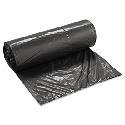 "38"" x 58"" Black Low Density Liner, .65 Mil.  100/Cs"