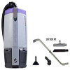 ProTeam SuperCoach Pro 6 Backpack Vacuum. W/ 107100 kit. 1/Ea