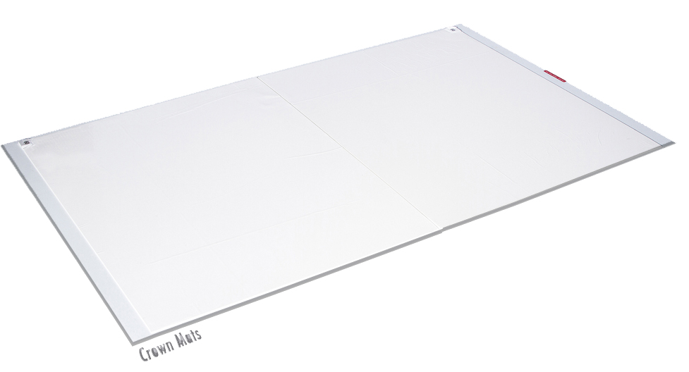 "Walk-N-Clean 30"" x 24"" Replacement Pads. White. 4/60ct."